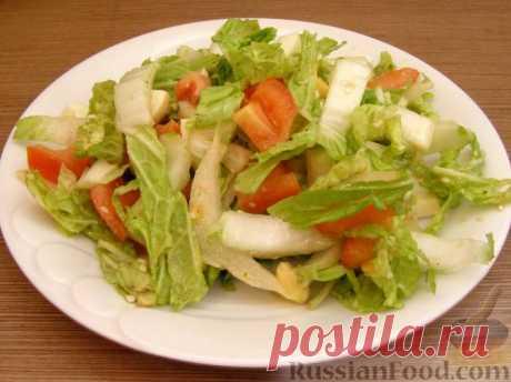 50 рецептов салатов из пекинской капусты.