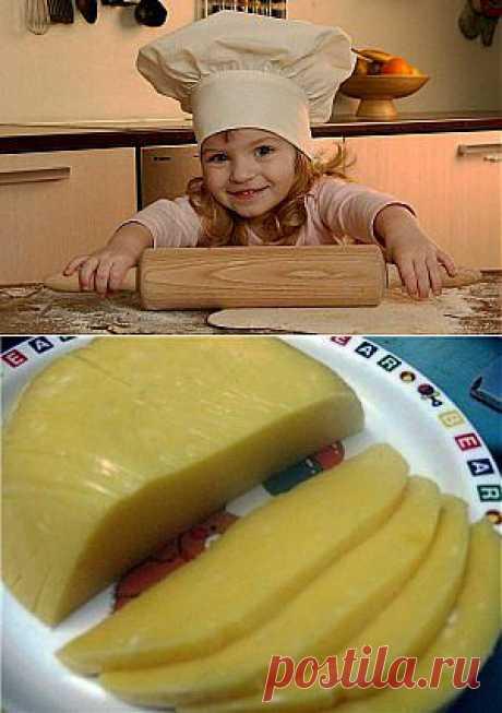 Домашний твердый сыр | Готовим вместе