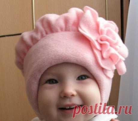 Шьем красивую шапочку-берет