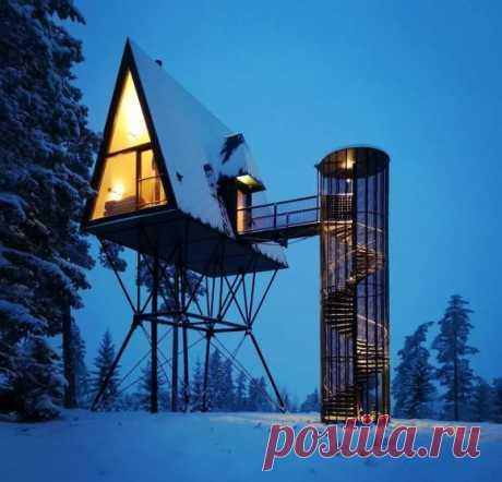 """Лесные домики для отдыха 2   Блог """"Частная архитектура"""""""