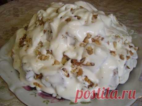 Как приготовить торт айсберг - рецепт, ингридиенты и фотографии