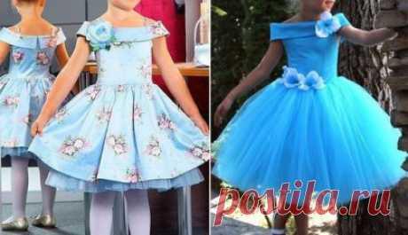 Шьем красивым девочкам платья