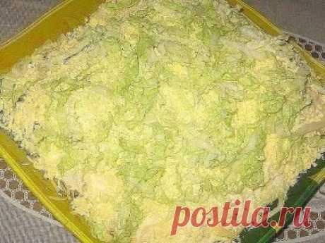 "(47) Schoolmates of ""Лебединый пух"" - very tasty and gentle salad."