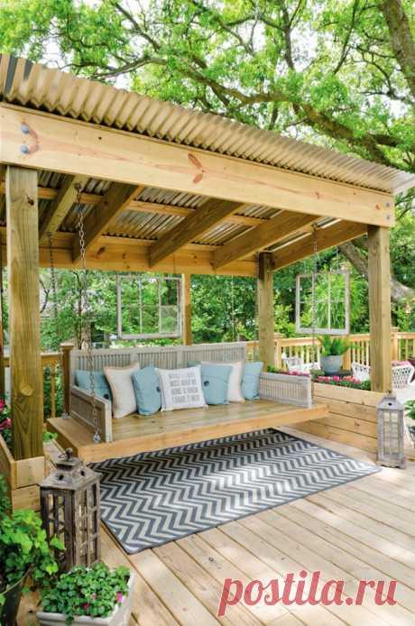Дизайн садовых участков и двориков