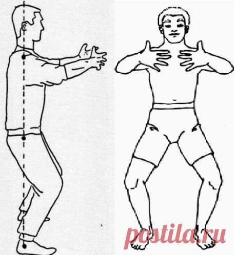 Омолаживающая стойка - десятиминутка (без физических упражнений).   Блонд Марина   Яндекс Дзен