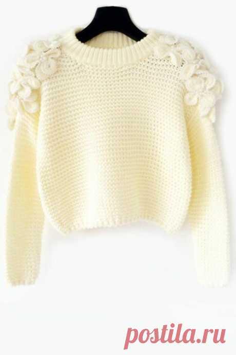 Украшаем вязаную одежду - просто, но эффектно! | Юлия Сковородина | Яндекс Дзен