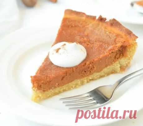 Рецепт тыквенного кето пирога (с подсчётом БЖУ)