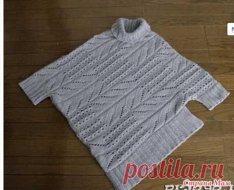 Пуловеры со сложным кроем. - Машинное вязание - Страна Мам