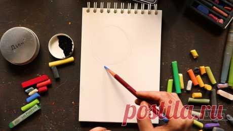 Специально для начинающих рисовальщиков: рисуем цветы за 30 минут   Хобби Фани.   Яндекс Дзен