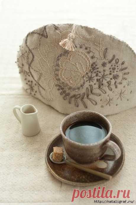 Такие разные грелки для чая