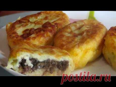 Potato zrazas, directly thaw in a mouth - the budgetary option - YouTube