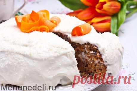 Рецепт морковного торта в мультиварке — MEGOCOOKER