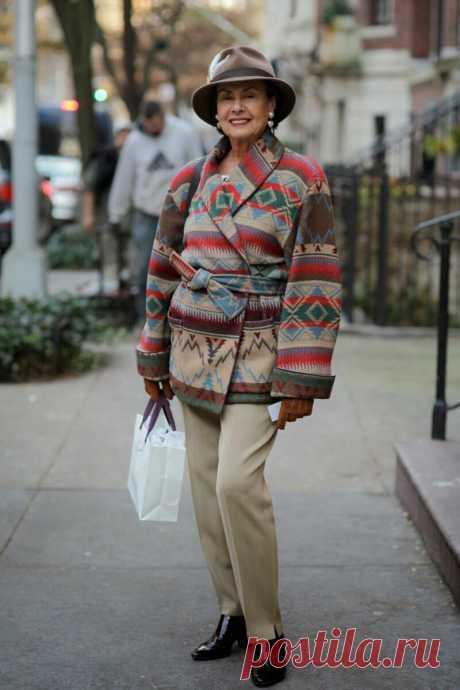 Какие аксессуары обожают иностранные пенсионерки? 7 нестандартных идей