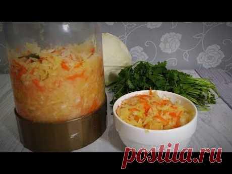 Квашеная капуста Натурального брожения. Ферментированная. Без сахара и без уксуса. | Кулинария