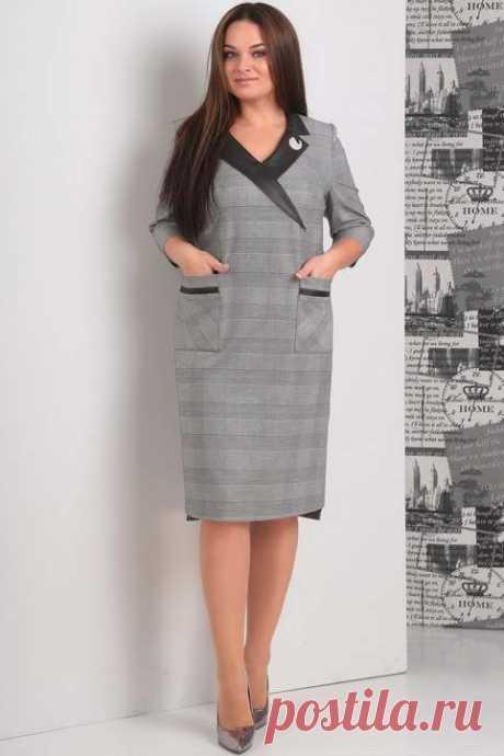 Коллекция женской одежды больших размеров белорусской компании JURIMEX осень-зима 2018-19 (50 фото)