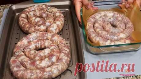 Как сделать вкусную домашнюю колбасу - Лучший сайт кулинарии