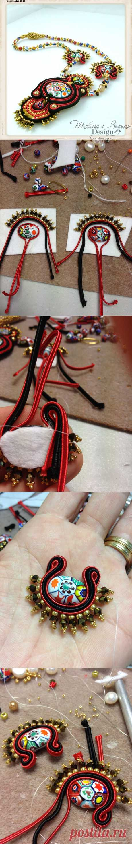 Social Butterfly Jewellery Design: Achieving Soutache Symmetry