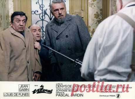 Луи де Фюнес - Винтажные фото из фильма «Татуированный», 1968