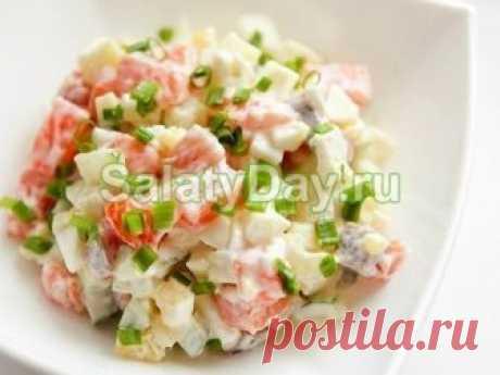 Постный салат оливье - блюдо для вегетарианцев: рецепт с фото и видео