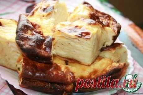 Фальшивая баница из лаваша - кулинарный рецепт