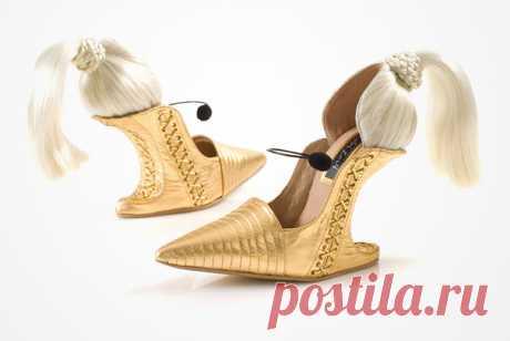Туфли набезумном каблуке
