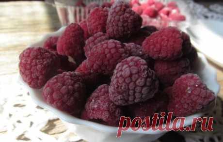Как заморозить малину и ежевику, чтобы сохранить форму, цвет, вкус, чтобы...