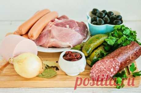 Солянка - пошаговый рецепт с фото - как приготовить, ингредиенты, состав, время приготовления - Леди Mail.Ru