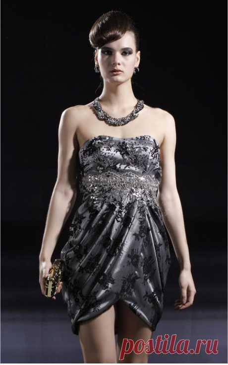 Платье  Арт № Sdk 10 Размер: S,  M,  L,  XL, 2XL Ткань: атлас