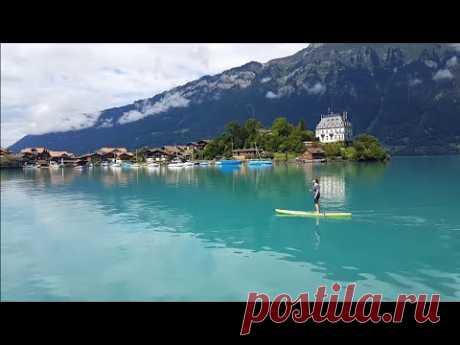 Interlaken, Switzerland - Town between two Lakes