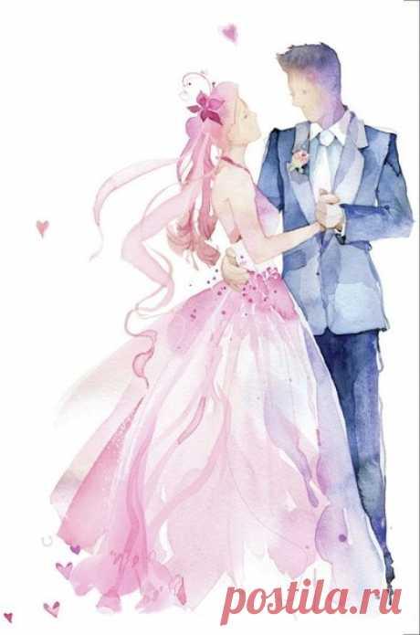 Подборка свадебных картинок