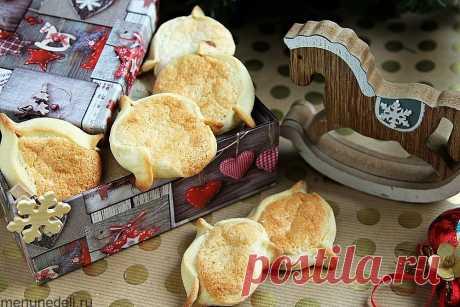 Рецепт рождественского печенья с марципаном | Меню недели