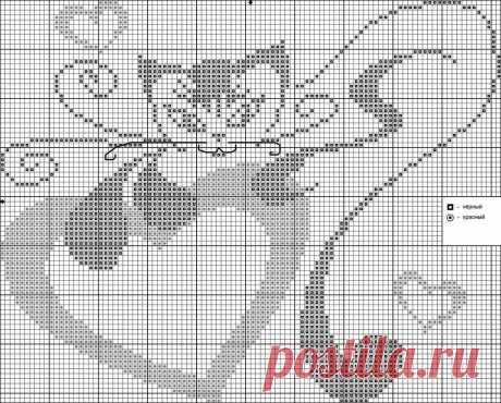 """«Милая кошечка """" Все о вышивке» — карточка пользователя Svetlana в Яндекс.Коллекциях"""