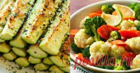 12 cool dishes which can be prepared from vegetables. Got healthier and grew thin all in a week!