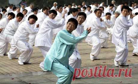 """Упражнение даосских монахов """"Оживить сердце"""""""