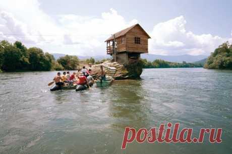 Дом-отшельник на реке Дрина (Сербия) — Путешествия