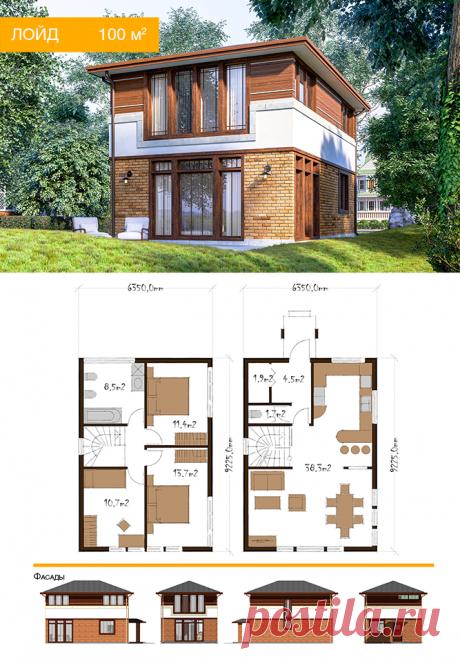 Домокомплект | Новый проект дома - Лойд
