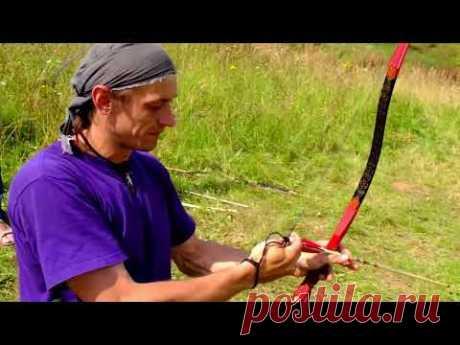Стрельба из лука с кольцом. Мастер-класс Виктора Калача - YouTube
