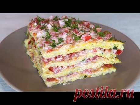 На Завтрак и на Обед готовлю КАПУСТУ. Овощной тортик из капусты.