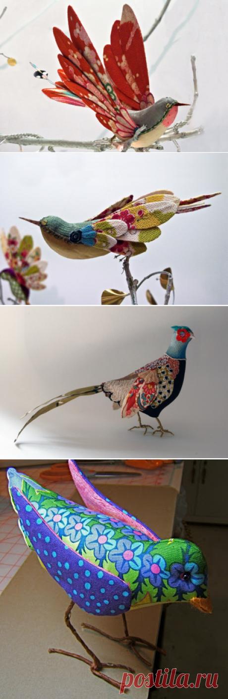 Лоскутные птицы — Делаем руками