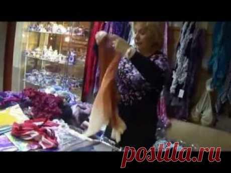 Как умело и элегантно завязать палантин, платок, шарф