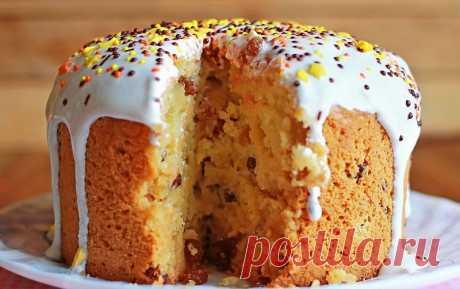 Fantastically tasty Easter Easter cake on sour cream! | Tasty recipes