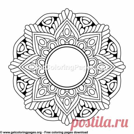 Ethic Style Mandala 14 Coloring Pages – GetColoringPages.org