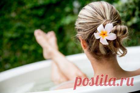 Что может быть приятнее, чем погружения в теплую ароматную ванну после напряженной недели?