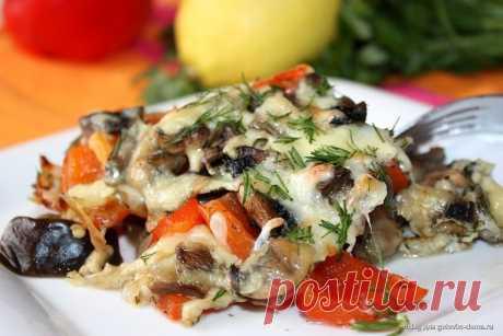 Интересные новости    Печеные баклажаны с грибами и перцем - сытный, полезный и низкокалорийный ужин!  на 100грамм - 50.89 ккалБ/Ж/У - 4.95/2.09/3.26