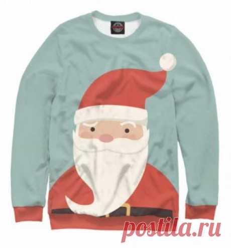 Новогодний свитшот  Дед Мороз