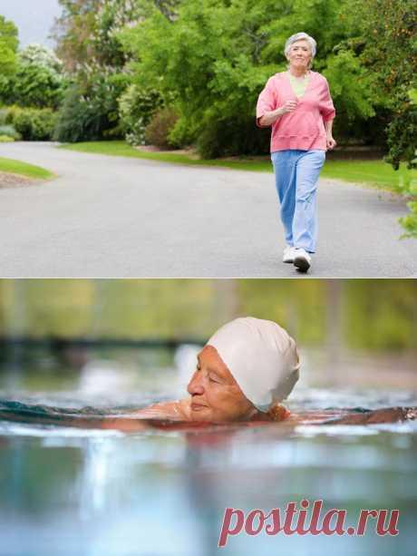 Какие физические упражнения полезны для пожилых людей? | Господарка.Ru