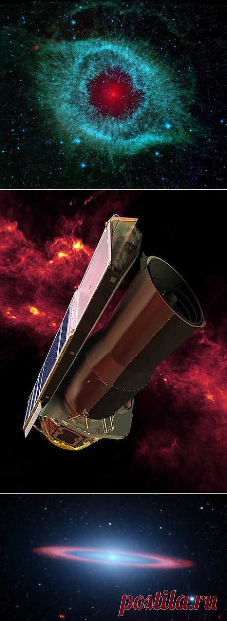 Фото, сделанные телескопом Spitzer | НАУКА И ЖИЗНЬ