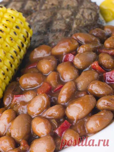 Тушеная фасоль диетическая Пикантное низкокалорийное блюдо Время приготовления 40 мин Всего 119 кал