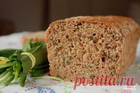 Хлеб с отрубями(5 цельнозерновой, корочка средняя, вес  750, 1 ст. л . соли,2 ч.л. сахара,200 гр ржаных отрубей) +