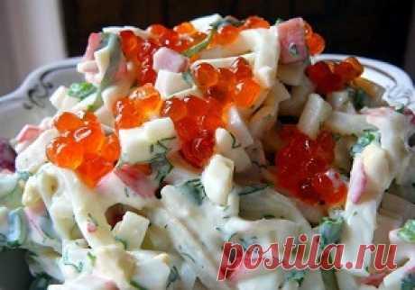 Вкусные салаты с кальмарами.Как правильно готовить кальмары